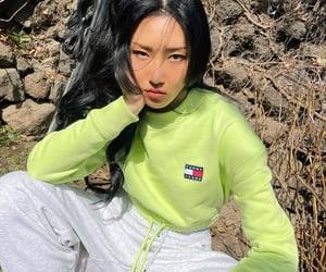 fashion, kfashion, and kpop image