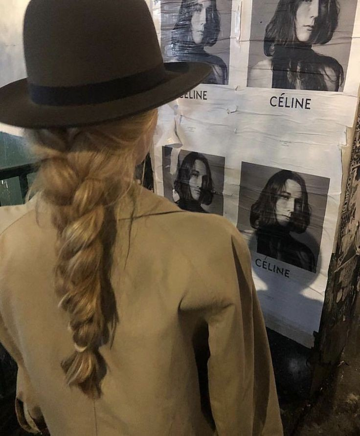 celine, girl, and hair image
