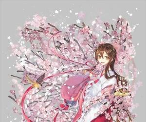 anime girl and kimono image