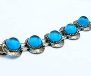 bracelets, mid century, and vintage jewelry image
