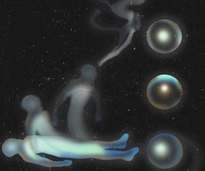 alternative, space, and astral projection image