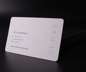 branding, business cards, and business card printing image