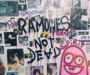 nirvana, ramones, and 1990 image