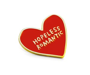 heart, romance, and hopeless romantic image
