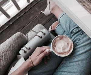 fashion, food, and coffee image