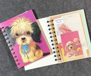 art, dog, and etsy image
