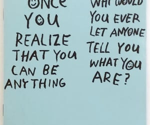 realization, be anything, and i yam what i yam image