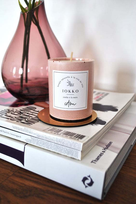 candles, decor, and design image