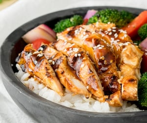 Easy teriyaki chicken - Nom-Food!