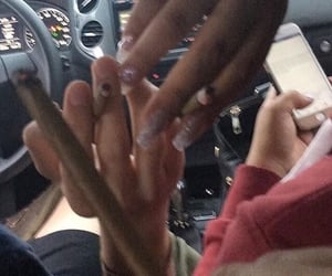 flick, nails, and hoodrich image