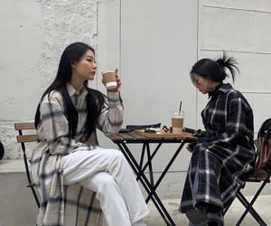 aesthetic, asian, and coffee image