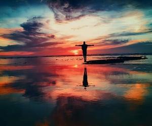 energy, motivation, and sunset image