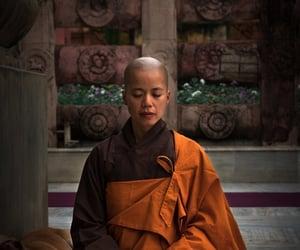 monk, mindfulness, and lifestyle image