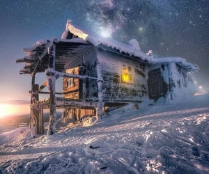Santa's cabin ❄️✨😍 Финляндия  .  #awesomeearthpix #earthpix #earthfocus #awesome_earthpix #theworldshotz #loves_landscape #ic_longexpo #magicpict #fantastic_earth #landscape_photograph