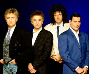 band, Queen, and brian may image