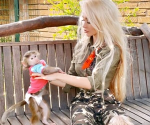 adorable, blonde, and camo image