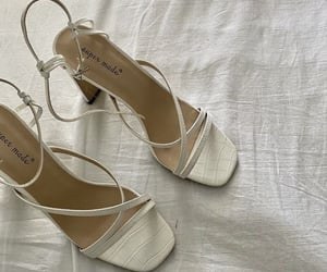 shoes, beige, and heels image
