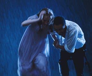 gif, period drama, and rain image