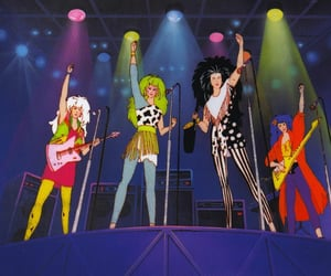 jem, jem and the holograms, and the misfits image