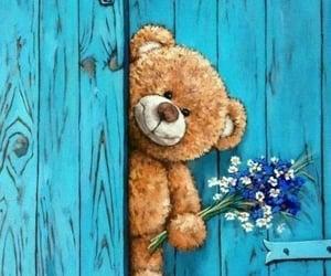 flores, tierno, and saludo image
