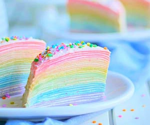 food, pastel colors, and pastels image