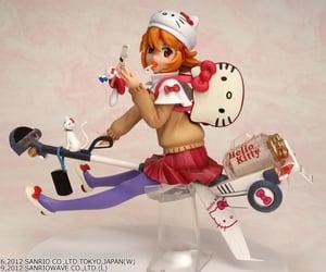 Figure, hello kitty, and anime figures image