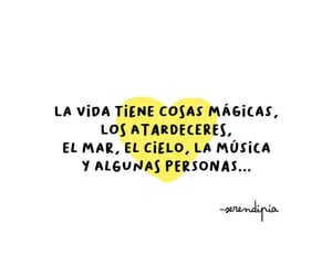 vida, magia, and frases image