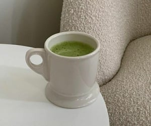 aesthetic, green, and cup image