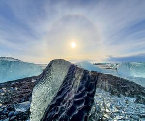 ice, frozen, and iceland image