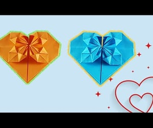 diy, valentines, and origami heart image