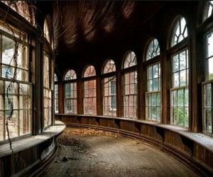 abandoned, aesthetic, and autumn image