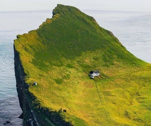 iceland, loneliness, and north image