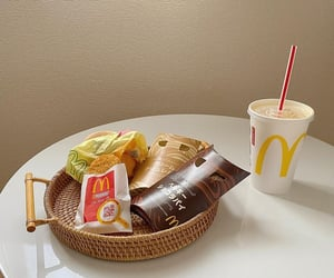 breakfast, food, and McDonalds image