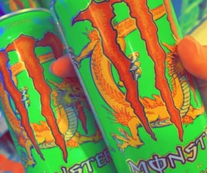 aesthetic, drink, and dragon image