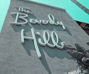 Beverly Hills, carefree, and turquoise image