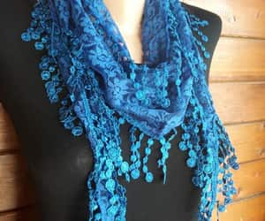 christmas, women scarf, and gift scarf image