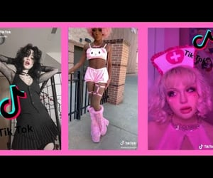 alt girl, goth, and sex image