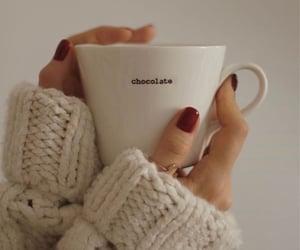chocolate, winter, and شوكوﻻتة image