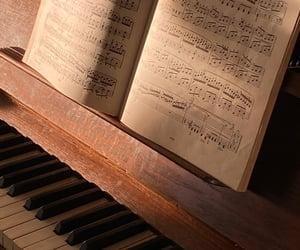 light, music, and piano image