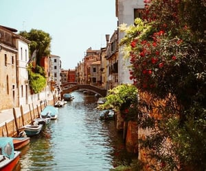 boats, destination, and Houses image