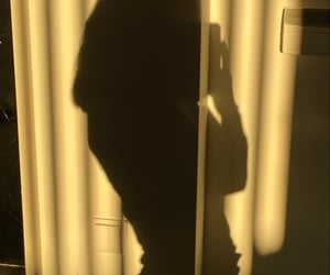 girl, shadow, and soft image