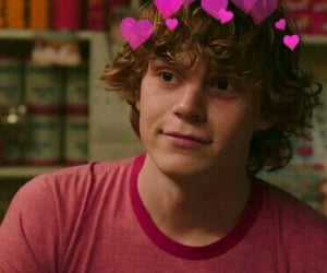 boy, hearts, and evan peters image