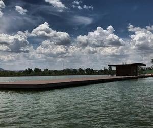 lake, watter, and blue image