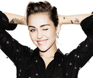 girl, miley cyrus, and tattoo image