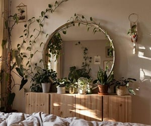 aesthetic, bedroom, and nature image