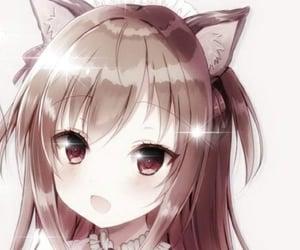 anime, égirl, and banner image