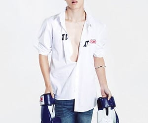 body, jimin muscles, and Hot image