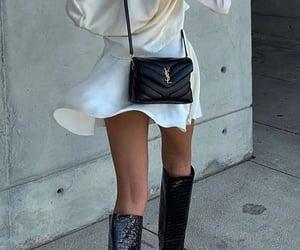 YSL, oooh shawty u cute, and buy u dem ysl boots image