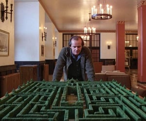 The Shining, 1980, and jack nicholson image