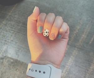 acrylics, aesthetic, and nail art image